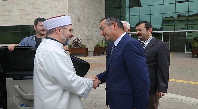 Erbaş'tan Akdoğan'a hayırlı olsun ziyareti