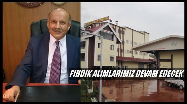 Erçal: Yanan fabrikamız 1 ay içerisinde faaliyete geçecektir