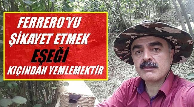 SP Ordu İl Başkanı Temiz'den fındıkla ilgili flaş açıklama