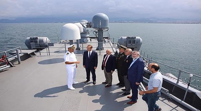 TCG Barbaros Gemisi Ordu'da