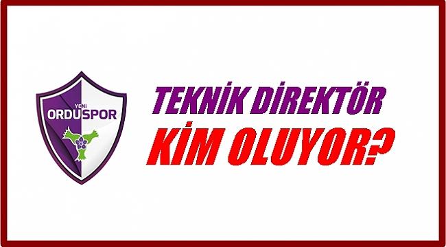 Yeni Orduspor'da Teknik Direktör belli oluyor