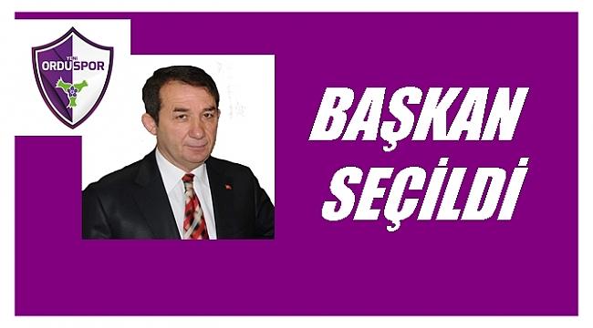 Yeni Orduspor Kulüp Başkanlığına Temel Aşar seçildi