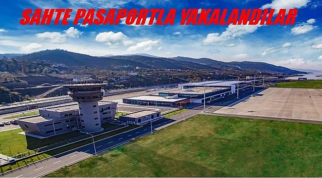 Ordu Giresun Havalimanı'nda sahte pasaportla yakalandı