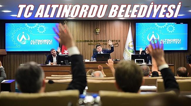 Altınordu Belediyesi'nden TC kararı