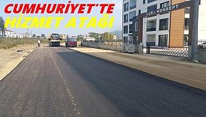 Cumhuriyet Mahallesi'nde trafik rahatlayacak