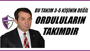 Orduspor'da Başkan Aşar istifa etti