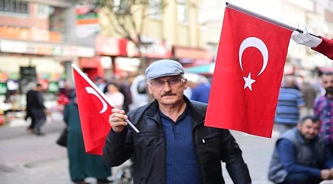 Altınordu'dan Barış Pınarı Harekatı'na anlamlı destek