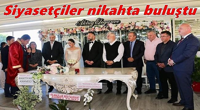 Av. Uğur Çelenk ile Esra Çelik evlendi