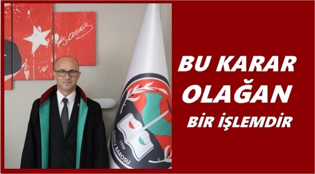 Baro Başkanı Poyraz, Belde Evler Kararını Değerlendirdi