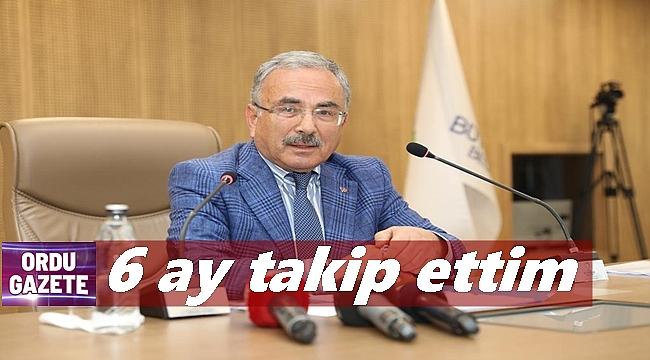 Başkan Güler: Kim ne yapıyor hepsinden haberim var
