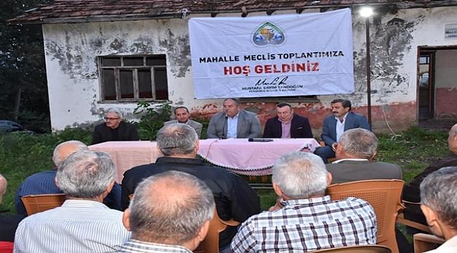 Başkan Tandoğan: 54 Mahallenin sorunu benim sorunumdur