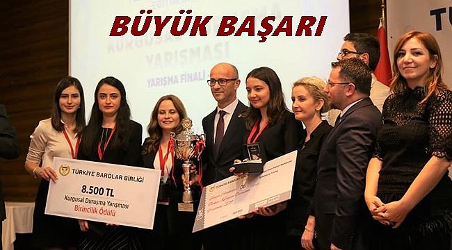 Ordu Barosu Türkiye Şampiyonu oldu