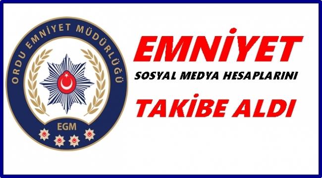 Ordu'da 2 kişi terör propagandası yapmaktan gözaltına alındı