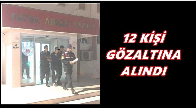 Ordu'da 6 faili meçhul hırsızlık olayı aydınlatıldı