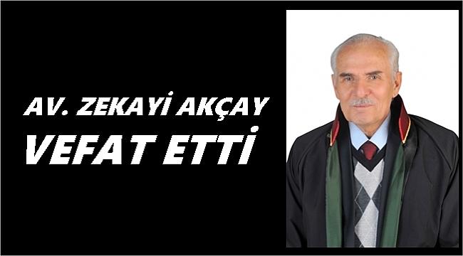 Ordu'da Av. Zekayi Akçay vefat etti