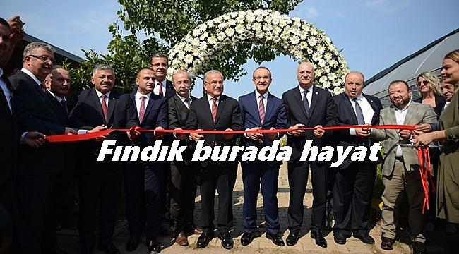 Ordu'da çiftçi eğitim ve üretim merkezi açıldı