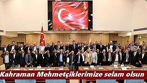 Ordu'da Meclis Üyeleri Huzur Haklarını Mehmetçik Vakfı'na Bağışladı