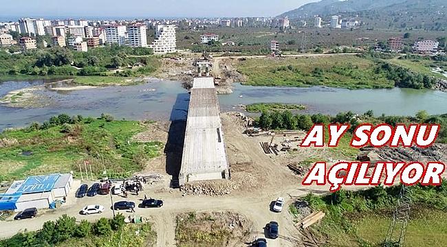 Ordu'da Melet'e 2. köprü
