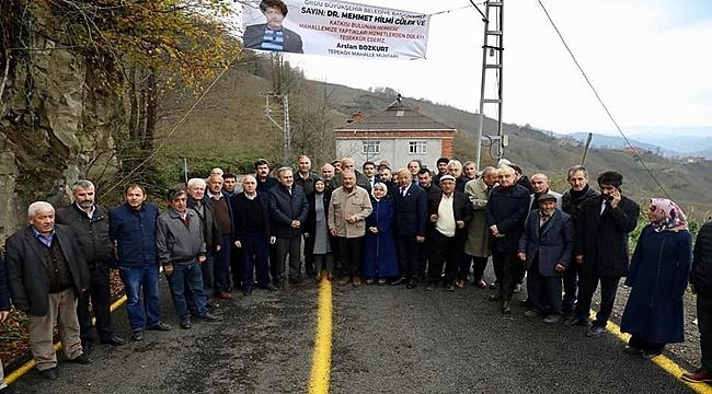 Başkan Güler: Gürgentepe'nin geleceği parlak