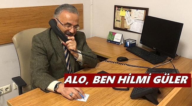 Beyaz Masada Telefonları Başkan Güler Cevapladı