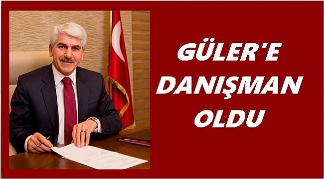 Eski Başkan Güler'e danışman oldu