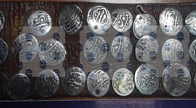 Ordu'da belediye personelinin evinde tarihi eser yakalandı