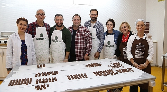 Ordu'da genç girişimciler butik çikolata üretimi gerçekleştirdi