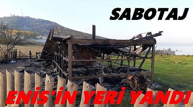 Ordu'da kır restoranı yandı