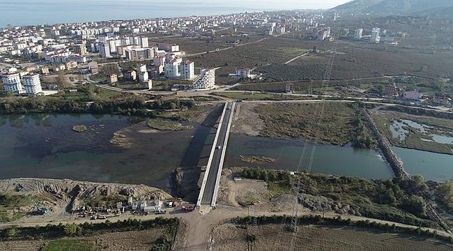 Ordu'da Yeni Melet Köprüsü tamamlandı