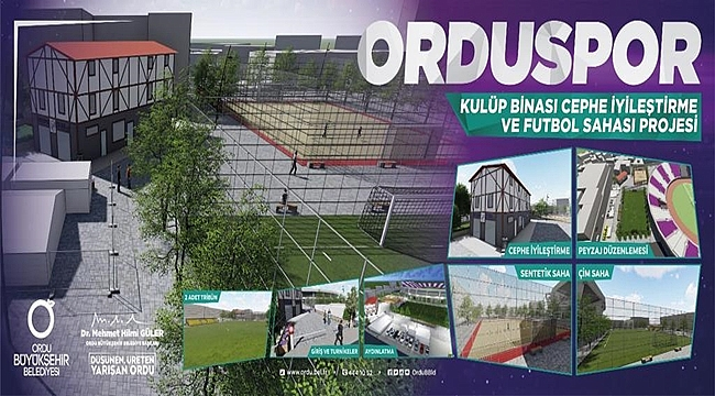 Orduspor Kulüp Binası Yenileniyor