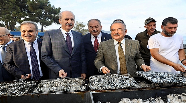 Perşembe Hamsi Festivali'ye coştu