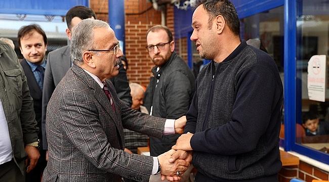 Başkan Güler güne ziyaretle başladı