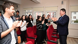 Başkan Tören : Gençler icat çıkartın