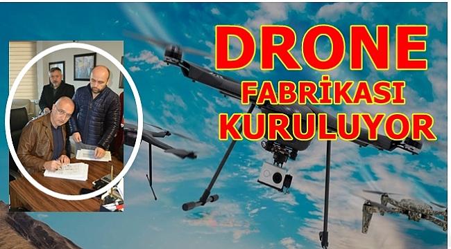 Bölgemizde drone üretilecek