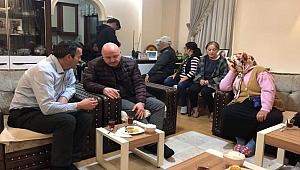 Gündoğdu Ceren'in ailesini ziyaret etti