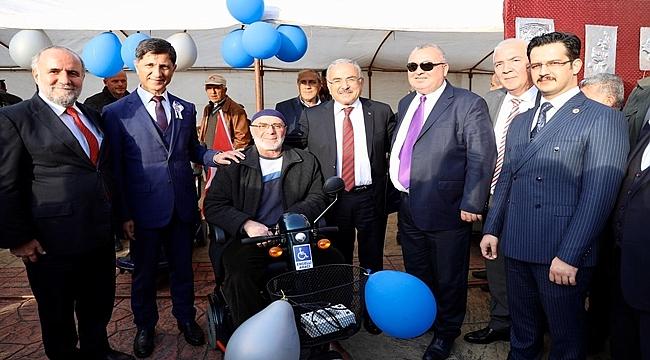 Ordu'da 36 engelli vatandaşımız akülü arabaya kavuştu