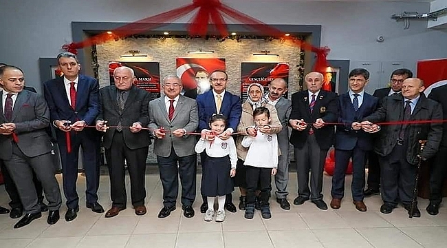 Şehit Bayram Gümüş İlkokulu'nda 3 açılış birden yapıldı