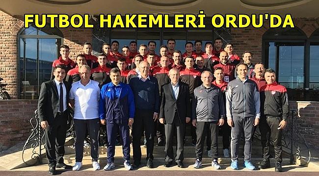 Türkiye'nin Genç ve Yetenekli Futbol Hakemleri Ordu'da