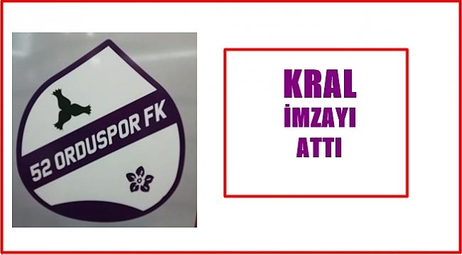 52 Orduspor Gol Kralı Murat Kara'yı transfer etti