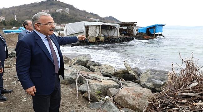 Başkan Güler balıkçılara da elini uzattı