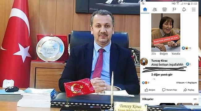 Başkan Kiraz: Yorumu yazan personel hakkında soruşturma başlattık