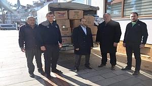 Başkan Tandoğan 1 aylık maaşını depremzedelere bağışladı