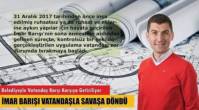 Başkan Tepe: Bakanlık, belediye ile vatandaşı karşı karşıya getiriyor