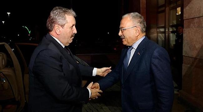 Destici Başkan Güler'i ziyaret etti