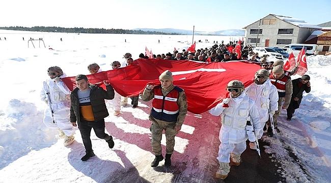 Mesudiye Kar Festivalinde Renkli Görüntüler Vardı
