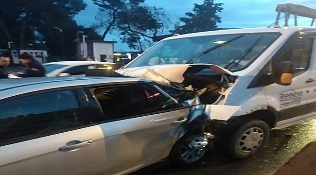Ordu'daki kazada banka müdürü ağır yaralandı