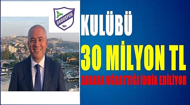Orduspor Eski Başkanı Nedim Türkmen'in yargılanmasına başlandı