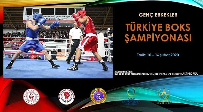 Türkiye Şampiyonası Ordu'da