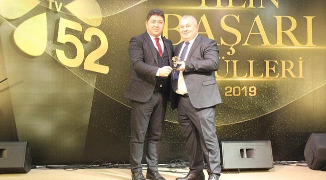 Tv52 'Yılın Başarı Ödülleri' sahiplerini buldu