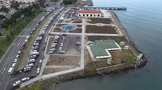 Vona Park Projesi Tamamlandı